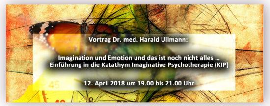 Vortrag: Imagination und Emotion und das ist noch nicht alles…