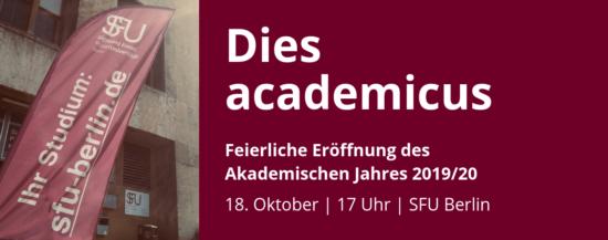 Eröffnung des Akademischen Jahres 2019/20