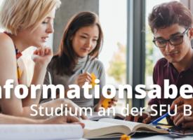Infoabend | Studieren an der SFU Berlin