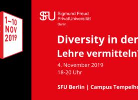 Berlin Science Week 2019 | Diversity in der Lehre vermitteln?