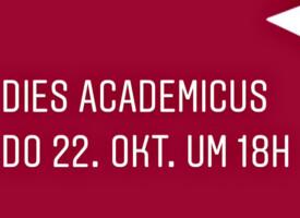 Feierliche Eröffnung des Akademischen Jahres 2020/21