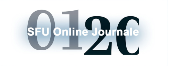 SFU Online Journale   Aktuelle Ausgaben