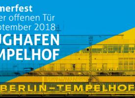 SFU Berlin beim Sommerfest und Tag der offenen Tür am Flughafen Tempelhof