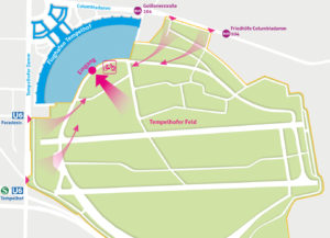 Lageplan Tag der offenen Tür Tempelhof