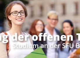 13. September 2019 | Tag der offenen Tür an der SFU Berlin