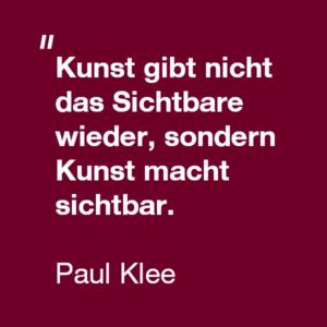 Zitat-Paul-Klee SFU Berlin