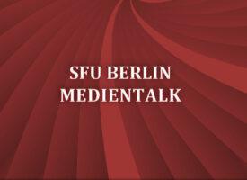 Medientalk an der SFU Berlin | Lesung mit Tanja Breukelchen
