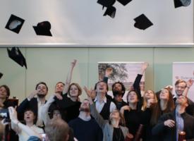 4. Graduierungsfeier der SFU Berlin in der österreichischen Botschaft 2020